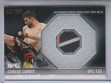 2012 Topps UFC Knockout Fight Mat Carlos Condit Relic UFC132 111/288 NM Cond