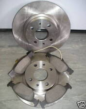 FIAT PUNTO 1.2 (16V) FRONT BRAKE DISCS AND PADS 1997 - 2005 NEXT DAY DELIVERY