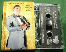 Alan Chambers Sings Your Kind of Music Signed Insert Cassette Tape - TESTED