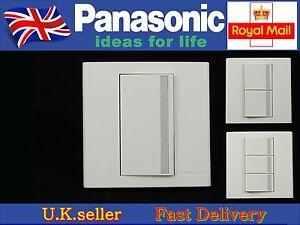 Panasonic Marco Series light wall switch1/2/3 Gang 2 Way Screwless
