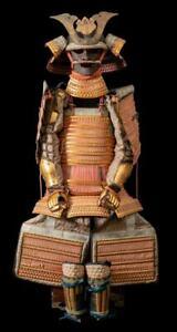 A Japanese Taisho Period O-yoroi Samurai armor