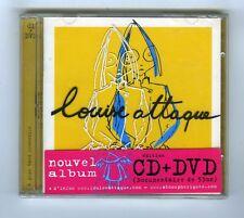 CD + DVD (NEUF) LOUISE ATTAQUE A PLUS TARD CROCODILE