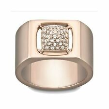 Rose Gold Plated Cocktail Round Costume Rings