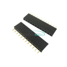 50PCS 2.54mm Pitch 12Pin Header Single Row Female Straight Strip PH: 8.5mm
