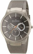 Skagen Men's 809XLTTM Multi-Function Grey Titanium Watch