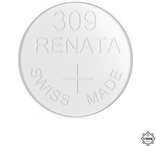 Swiss Made Sliver Oxide batteries Uk 309 Sr7548Sw Genuine Renata Watch Batteries