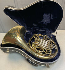 ELKHART MADE CONN 6D DOUBLE FRENCH HORN IN GOOD PLAYING CONDITION