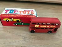 LONE STAR TUF-TOTS  UK ref 623 Diecast Metal Scale London Red Bus