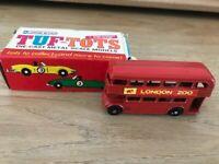 LONE STAR TUF-TOTS UK ref 623 Diecast Metal Scale London Red Bus
