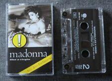 Cassettes audio de Madonna