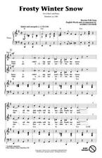 Frosty Winter Snow 2-Part Choir CHOIR Learn to Play MUSIC CHORAL SCORE