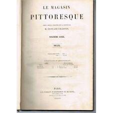 Le MAGASIN PITTORESQUE d'Édouard CHARTON Voyages Mœurs Sciences Gravures 1852 EO