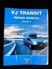 """Ford TRANSIT """" VJ series """" 2004  Vol.1  GENUINE factory REPAIR  MANUAL very RARE"""