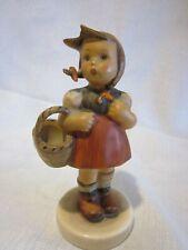 Rare 1940-50s Hummel Little Shopper #96 Tmk 2