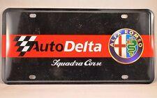 ALFA ROMEO AutoDelta Squadra Corse Metal Garage / Workshop Sign