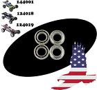 4 Pack Wheel Ball Bearings WLtoys 144001 124018 124019 -1296 Spare RC Car Parts