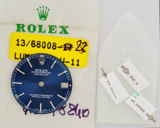 Rolex original blue dial for steel Datejust 31mm 78240 new old stock w/hands 202