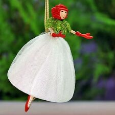 Patience Brewster MINI ROSE FAIRY ornament KRINKLES CUTE! Item #31015