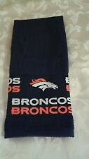 Denver Broncos Hand Towel. Handmade Great for Bars, bathrooms and golf bags