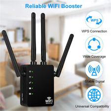 WLAN Repeater Router 5Ghz 1200 Mbit/s WI-FI Signal Verstärker Extender 4 Antenne