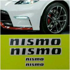 NISMO Brake Caliper HIGH TEMPERATURE Decal Sticker Set of 4 (Black)