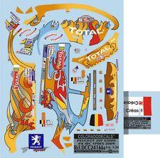 DECALS 1/24 PEUGEOT 207 S2000 #8 LOIX - RALLYE IRC D'YPRES 2009 - COLORADO 24166