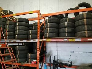 """USED PART WORN TYRES - 14"""" 15"""" 16"""" 17"""" - ALL SIZES & VARIOUS MAKES - 6mm+ TREAD"""