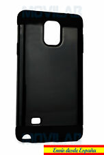 Funda / Carcasa Samsung N910 - Galaxy Note 4 antigolpes tipo Spigen Negro