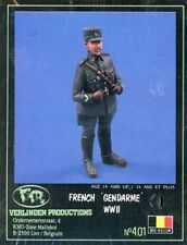 Verlinden Productions 1:35 French Gendarme WW II Resin Figure Kit #401