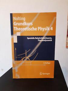 Grundkurs Theoretische Physik 4, Nolting, 6. Auflage