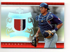 2007 Upper Deck Series 1 #UD-VM  VICTOR MARTINEZ - Patch 3 Color - Game Used GU