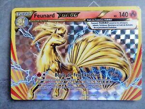 Carte Pokémon - Feunard Turbo 140PV 16/108 - XY Evolutions - FR Holo neuf