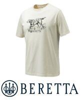 Beretta Engraving Setter T-Shirt Sand M - XXL Dog Hunting Tee Apparel Shooting