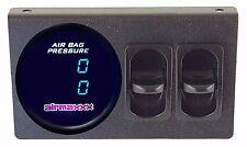 Air Gauge Dual Digital 200psi Display Panel Two Paddle Switches Air Suspension