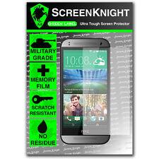 Screenknight HTC ONE M8 MINI FRONT SCREEN PROTECTOR invisibile SCUDO MILITARE