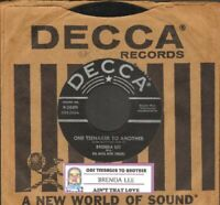 Lee, Brenda - One Teenager To Another Vinyl 45 rpm record Free Shipping