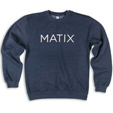 Matix Monoset Crew Fleece (M) Navy Heather