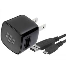 Genuine BlackBerry American Fixed Blade 2 Pin 750 mA Mains AC Travel Charger
