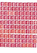 100 unfranked 1st class stamps