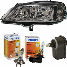 Headlight Left OPEL ASTRA G 97-04 incl. Philips Lamps mo 57199668