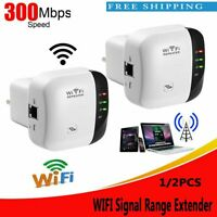 300Mps WiFi Signal Booster Broadband Range Extender  Wireless Repeater UK Plug