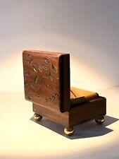 Reuge Spieluhr Spieldose Walzenspieluhr Für Elise Beethoven Vintage Holz Box Rar