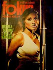 Sharon Tate Magazine 1975 Fokus #61 Croatia The Beatles Extremely Rare VG