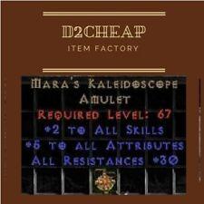 Mara Mara's Kaleidoscope 20-24% - Diablo 2 Europe / East / West Ladder & NON