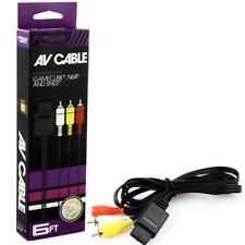 Câbles et adaptateurs pour console de jeux vidéo Nintendo 64