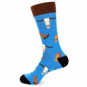 Men's Old West Novelty Fun Socks