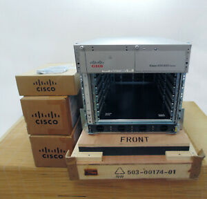 NEW Cisco ASR-9006-AC-V2 System with PEM2 +A9K-RSP440-TR+2x ASR-9006-FAN-V2 Neu