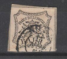 FRANCOBOLLI 1852 STATO PONTIFICIO 8 BAJ D/4550