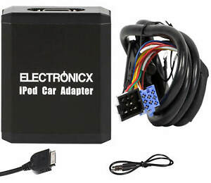 Adapter Aux IPHONE IPAD Ipod CD Changer VW, Seat, Skoda, Ford 8 Pin