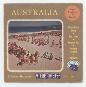 Australia 1953 Sawyer's View-Master Packet with Reels 5001 5020 5161